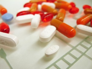 assorted capsules and tablets